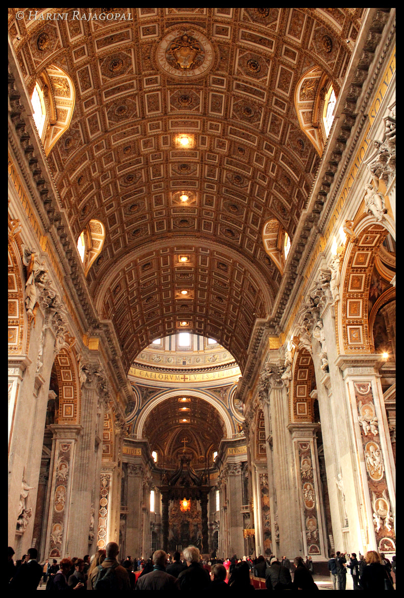 Photograph Inside St Peter's Basilica by HARINI RAJAGOPAL on 500px