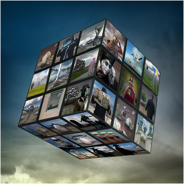 Photograph The cube by Patrick Desmet on 500px