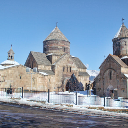 Kecharis Church in Tsagkadzor, Armenia