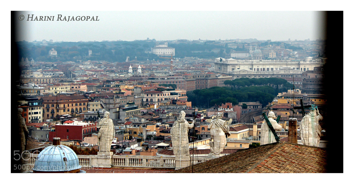 Photograph A View of the Vatican City by HARINI RAJAGOPAL on 500px
