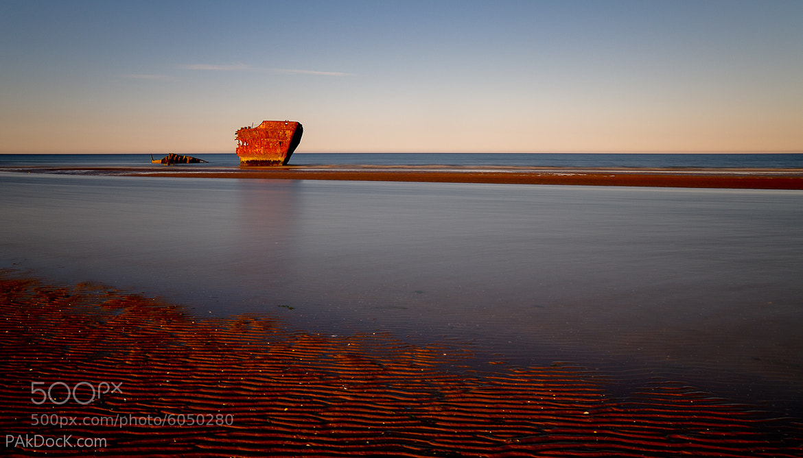 Photograph Shipwreck in the Irish Sea by PAkDocK .com on 500px