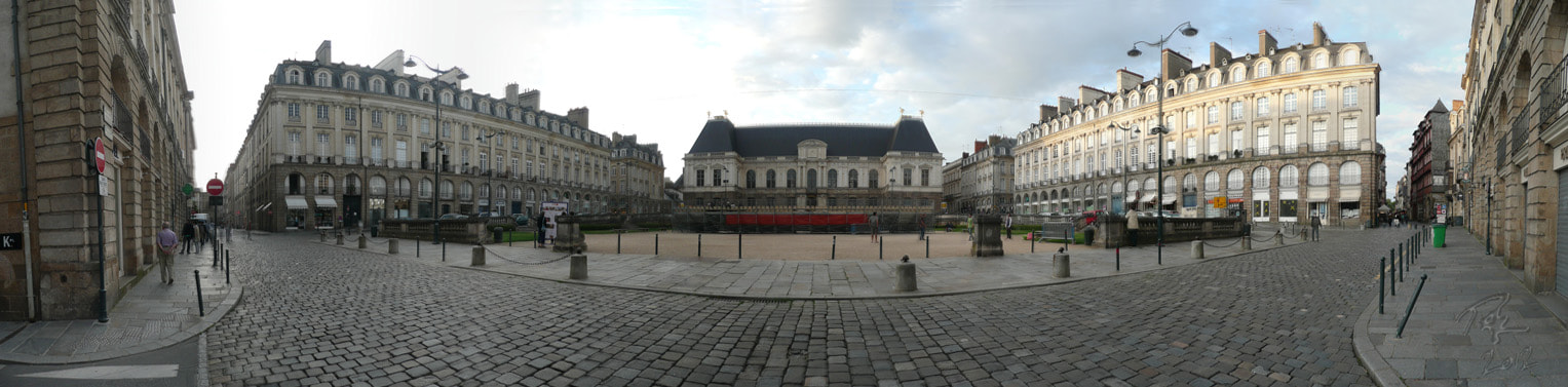 Photograph Panorama Parlement de Bretagne, Rennes by Benno Pütz on 500px
