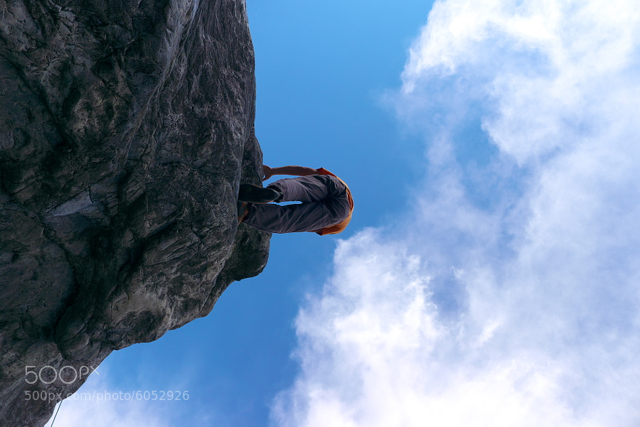 Photograph Beautiful climbing by Duke Uehara on 500px