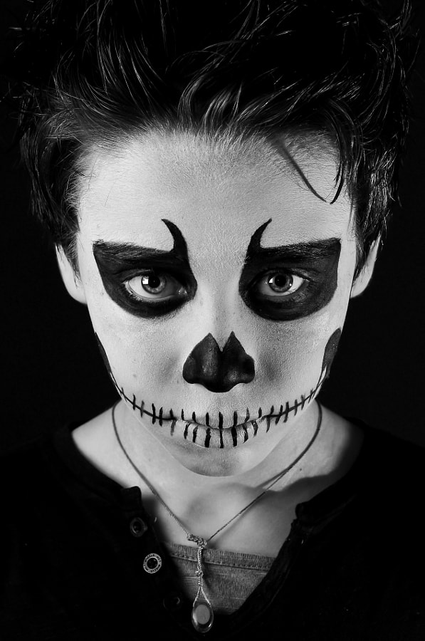 Skull Boy by Tim Paza May on 500px.com