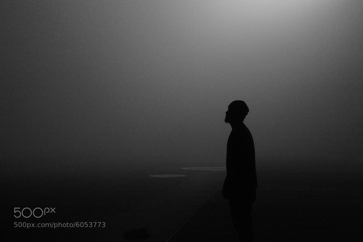 Photograph Man in fog by Lin zhan xian on 500px