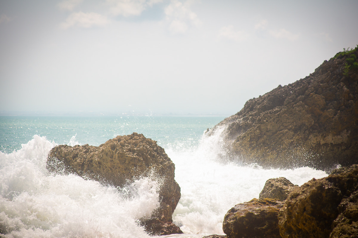 Photograph Waves and Rocks by Dmitri Yakovlev on 500px
