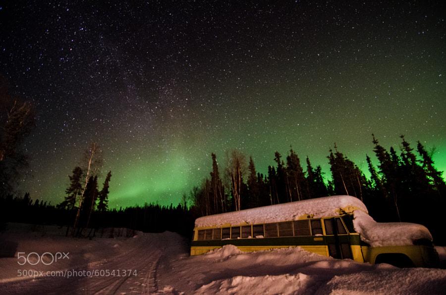 Photograph Aurora Bus by Shreenivasan Manievannan on 500px