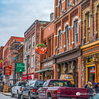 Постер, плакат: Music Row Nashville TN