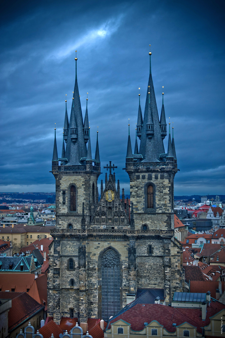 Photograph The Church of Mother of God before Týn by Aleksey Serdyuk on 500px