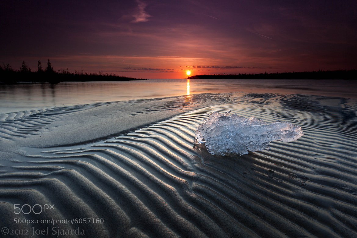 Photograph Icy Tides by Joel Sjaarda on 500px