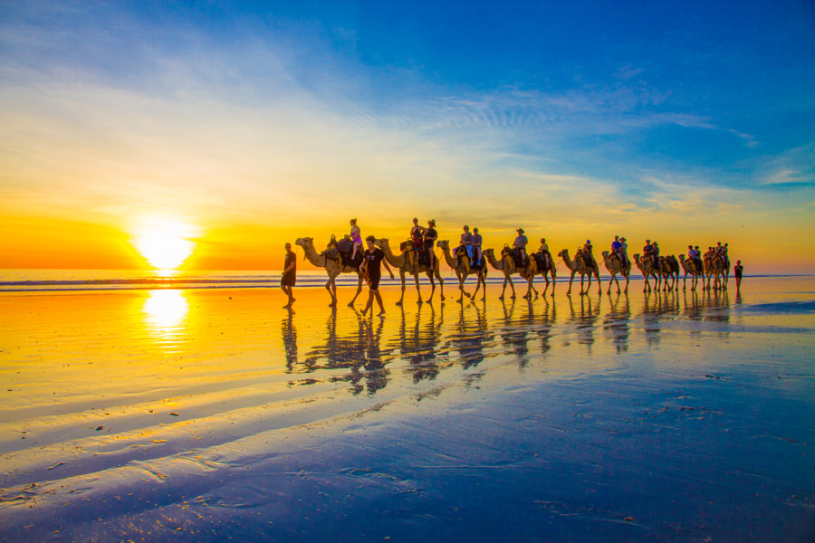 Cable Beach, Broome, Western Australia by Warren Hahnel on 500px.com