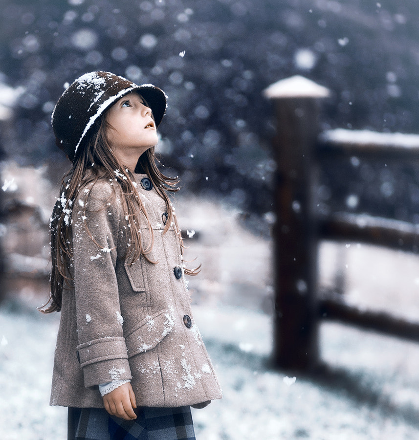 first snow by DesiArt Kuleshova on 500px.com