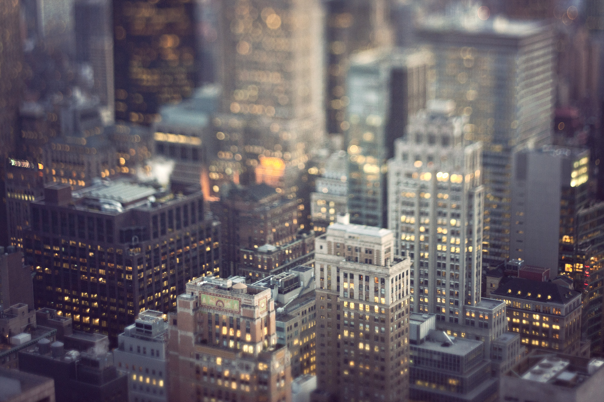 Photograph Toy buildings by Raphaël Dupertuis on 500px
