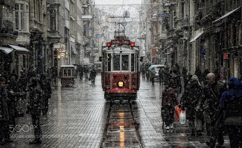 Photograph Beyoğlu by Murat  Akan on 500px