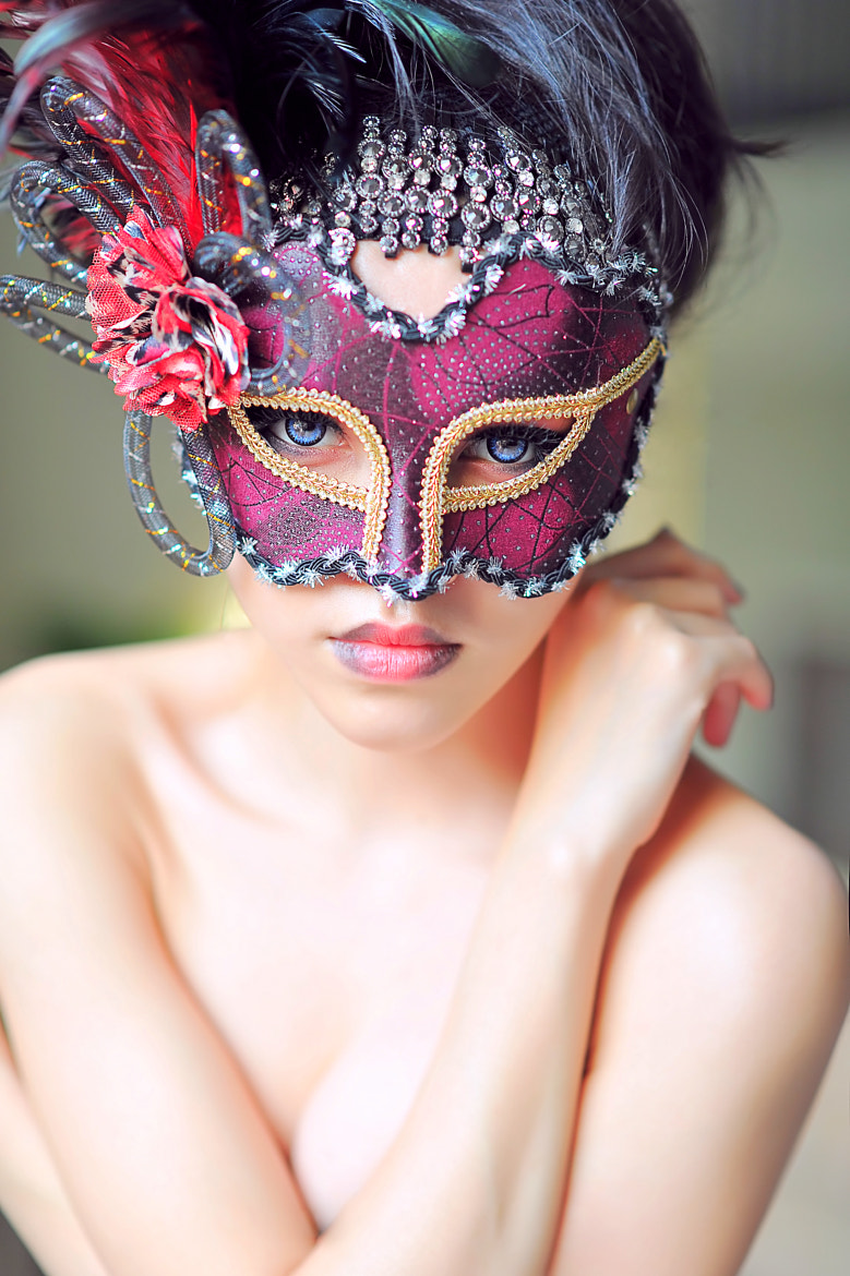 Photograph Masquerade  by Jason Matthew Tye on 500px