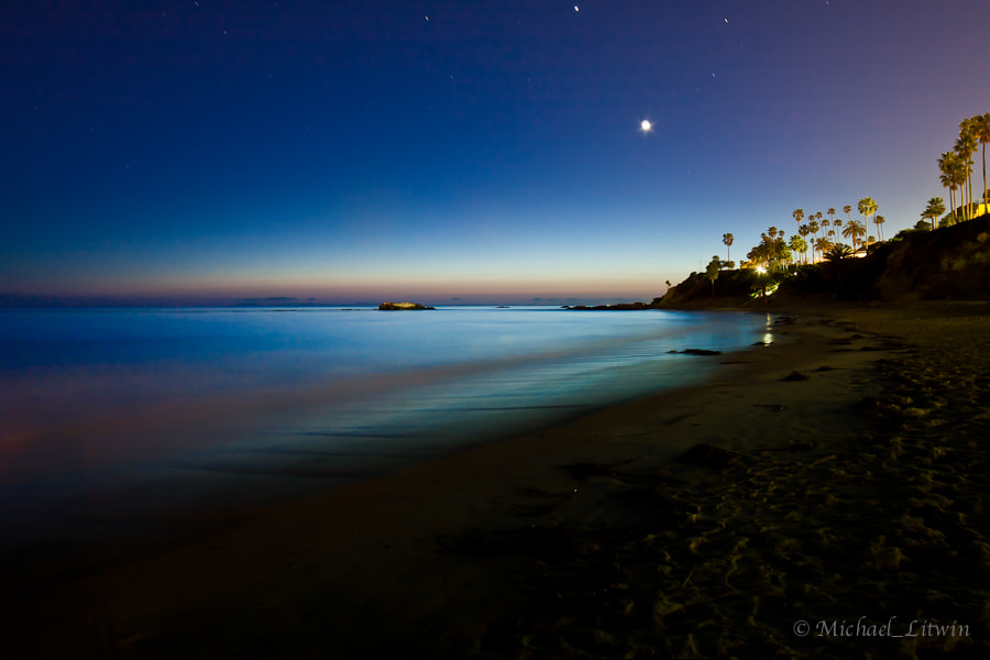 Photograph Laguna Beach at Twilight by Michael Litwin on 500px