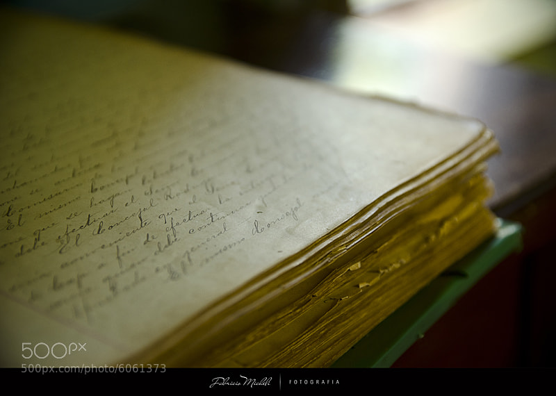 Photograph The Old Book by Fabricio Micheli on 500px