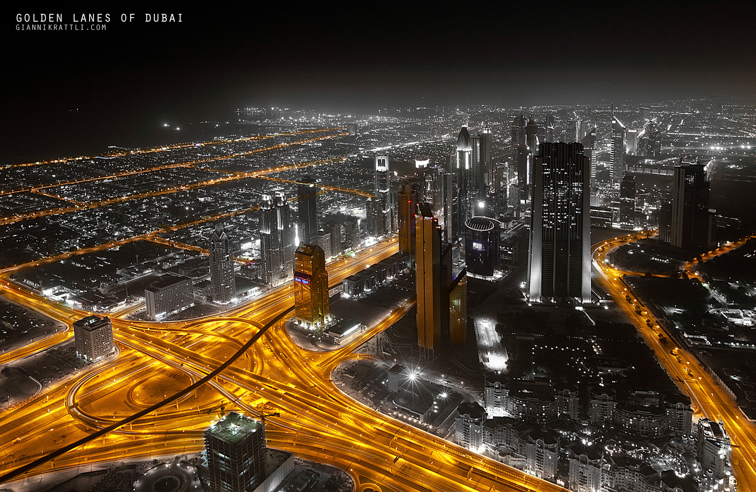 Photograph Golden Lanes of Dubai by Gianni Krattli on 500px
