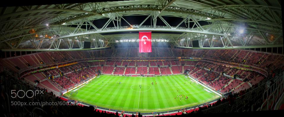 Photograph Ali Sami Yen (Galatasaray) by mert terazi on 500px