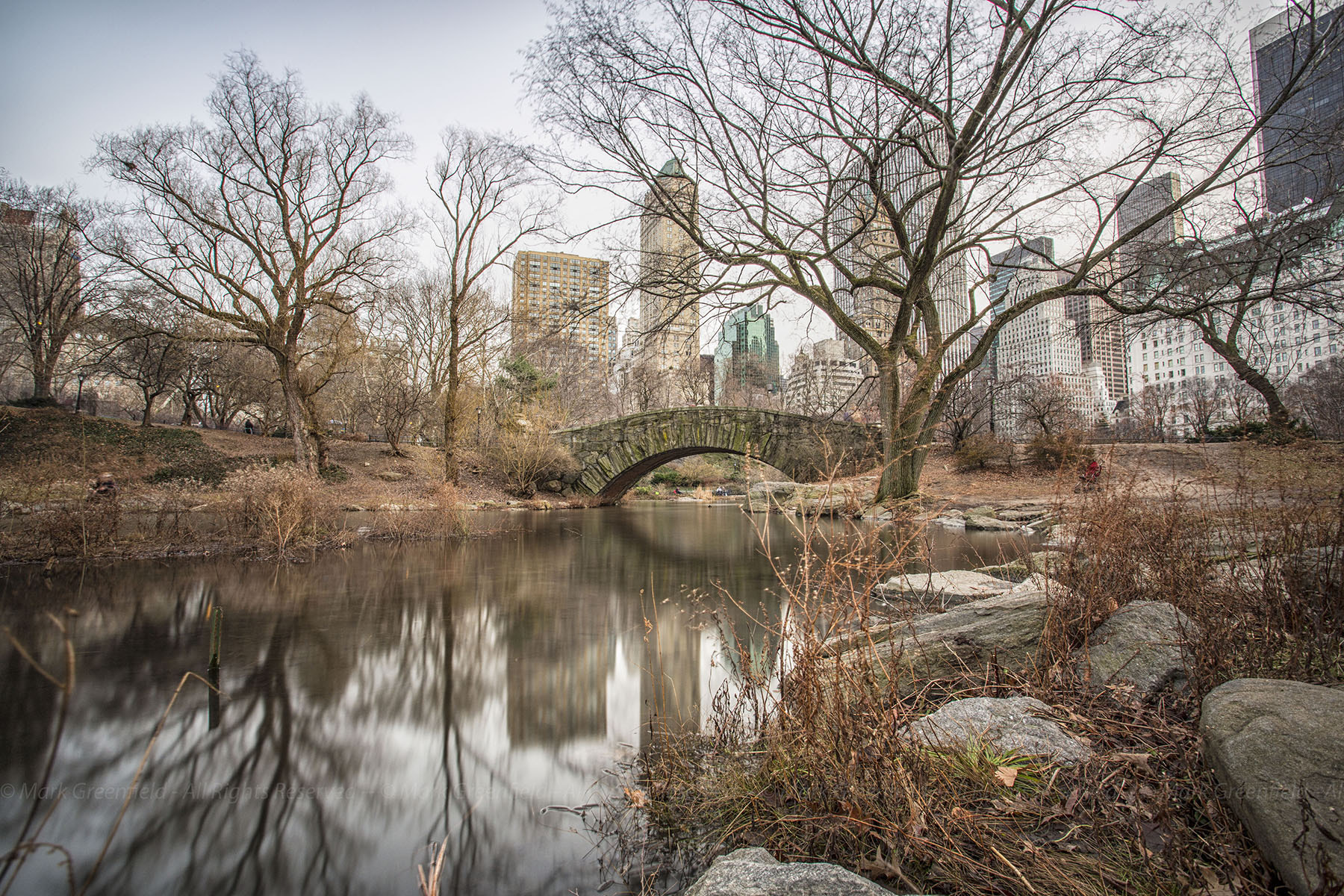 Photograph Central Park (Colour) by Mark Greenfield on 500px