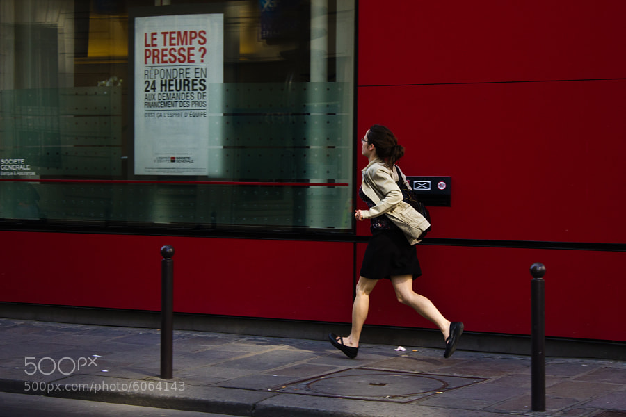 Time is running out / Le temps presse