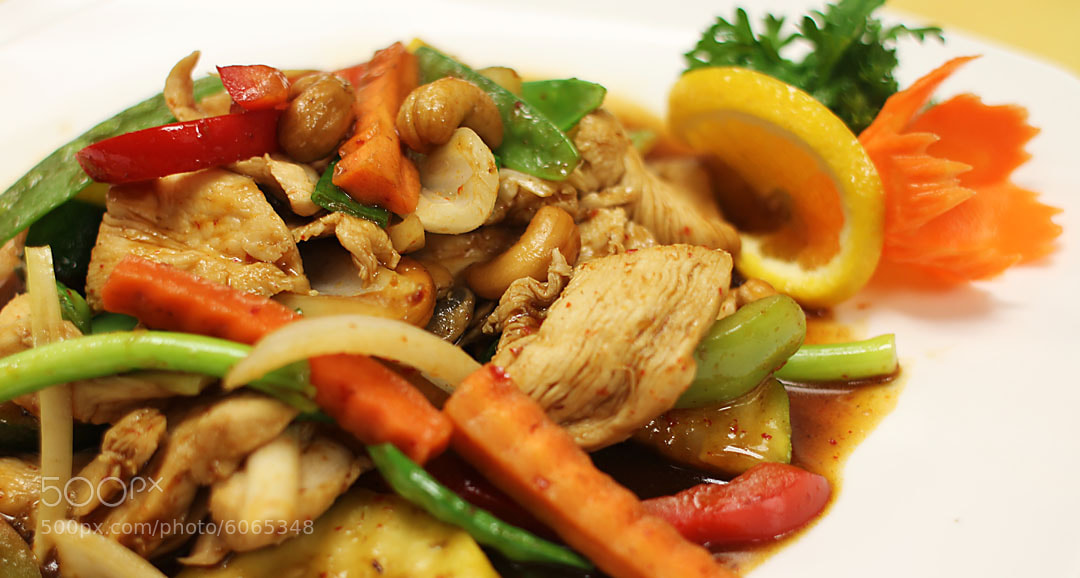 Photograph Chicken Cashew by Dustin Hardwick on 500px