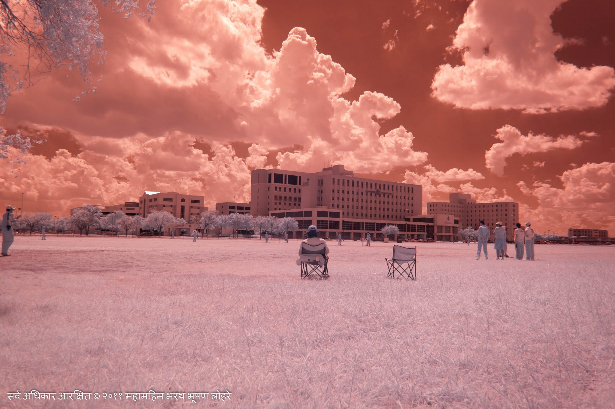 Photograph Cricket Field in IR by Bharath Lohray on 500px