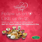 Постер, плакат: Special offer @ Panchavati Gaurav on valentines day Buy1 Get 1 free