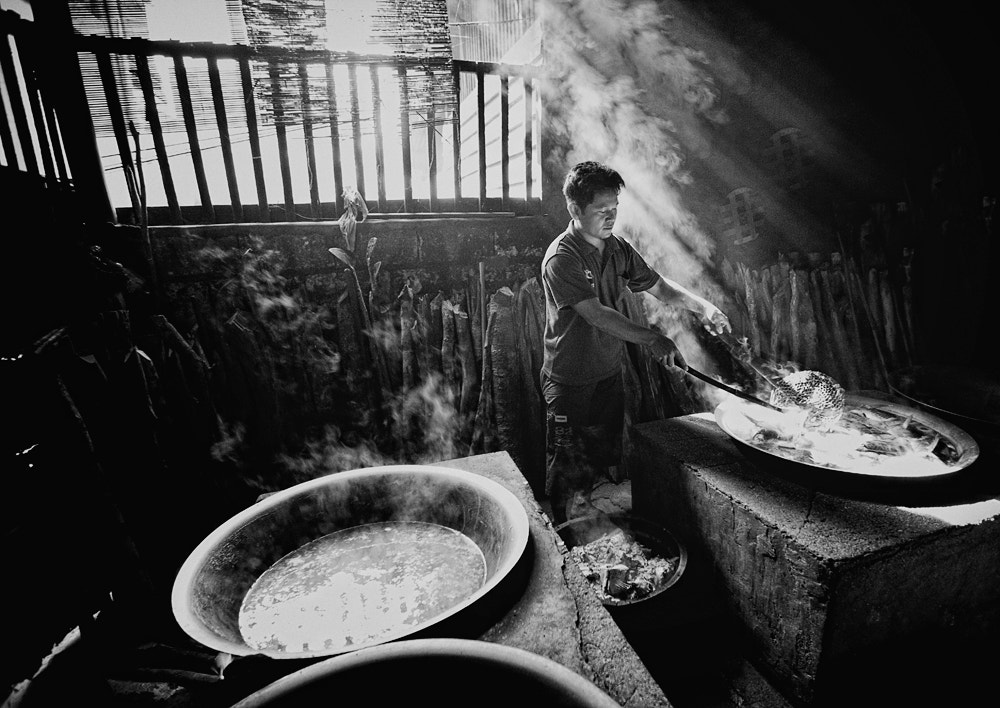 Photograph Shredded fish Maker by Langlang Jagad on 500px