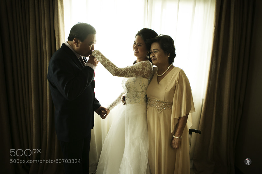 Photograph Mom, Dad and The Bride by James Jayson Ty on 500px
