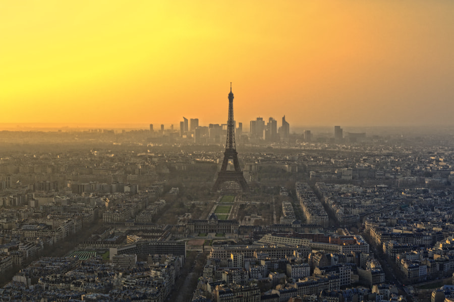 Photograph Paris Skyline 3 by Julien Guglielminetti on 500px
