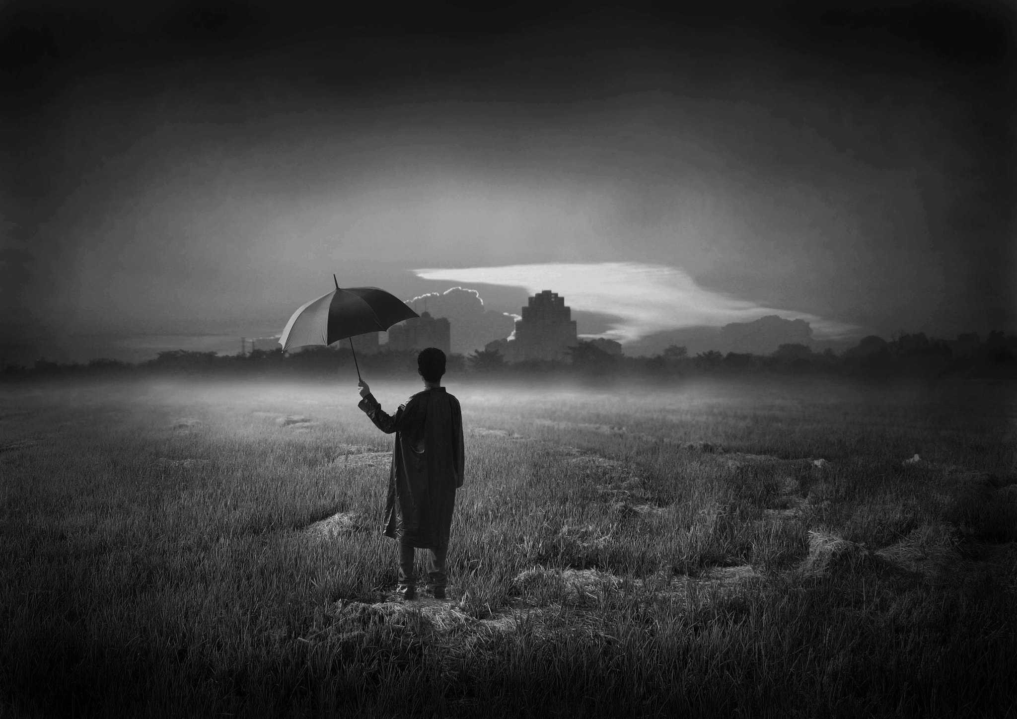 Photograph The Payung Man by Meor Hasmadi on 500px