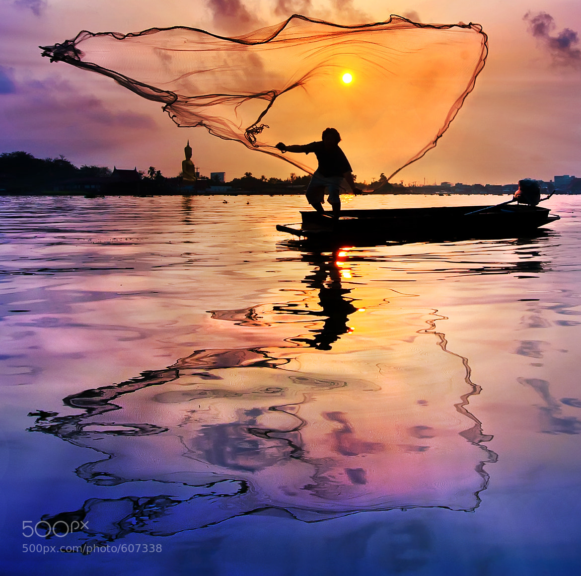Photograph The Fisherman @ Thailand by Arthit Somsakul on 500px