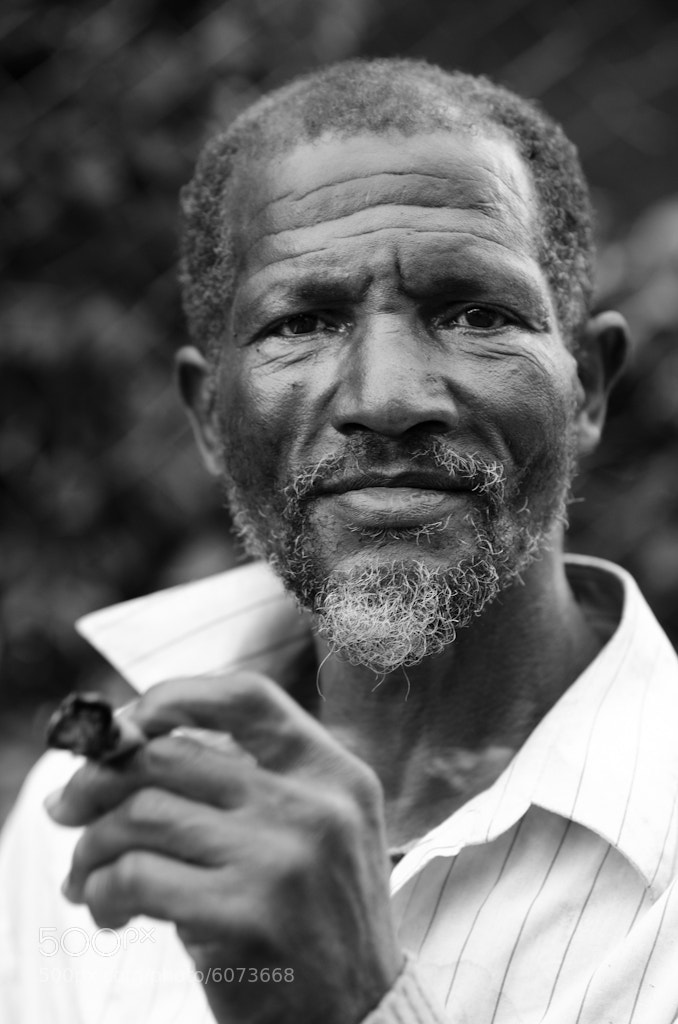 Photograph Cigar Man by Joel Finnigen on 500px