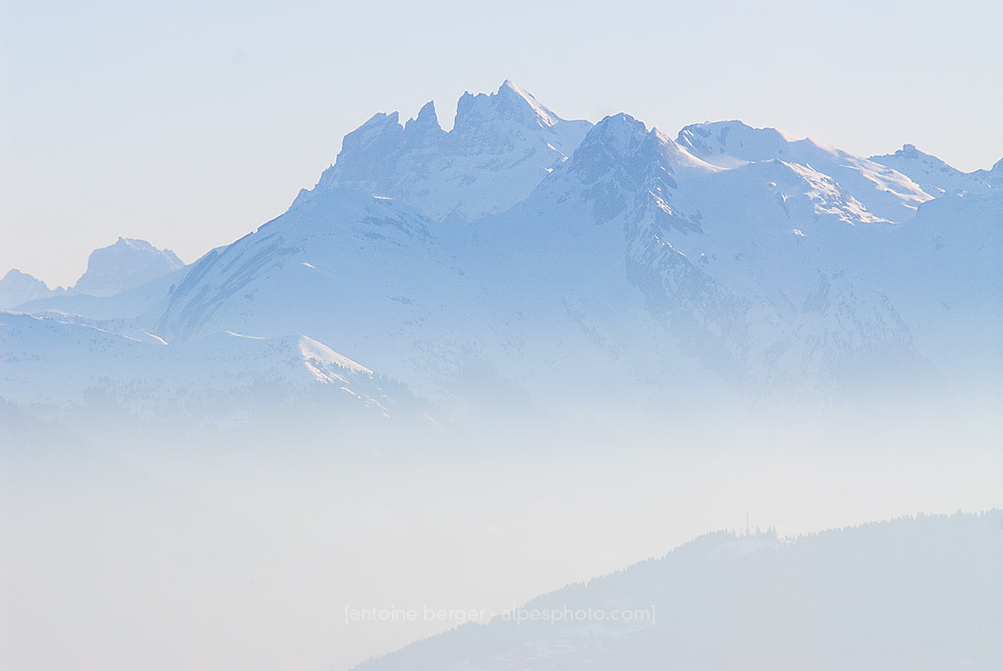 Photograph Dents du Midi by Antoine Berger on 500px