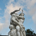 Постер, плакат: Statue of The Rape of Persephone by Pluto Hades at the famous palace of Versailles France