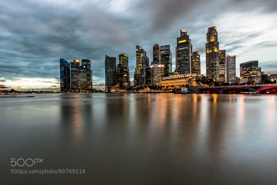 Photograph Singapore Skyline by SooSing Goh on 500px