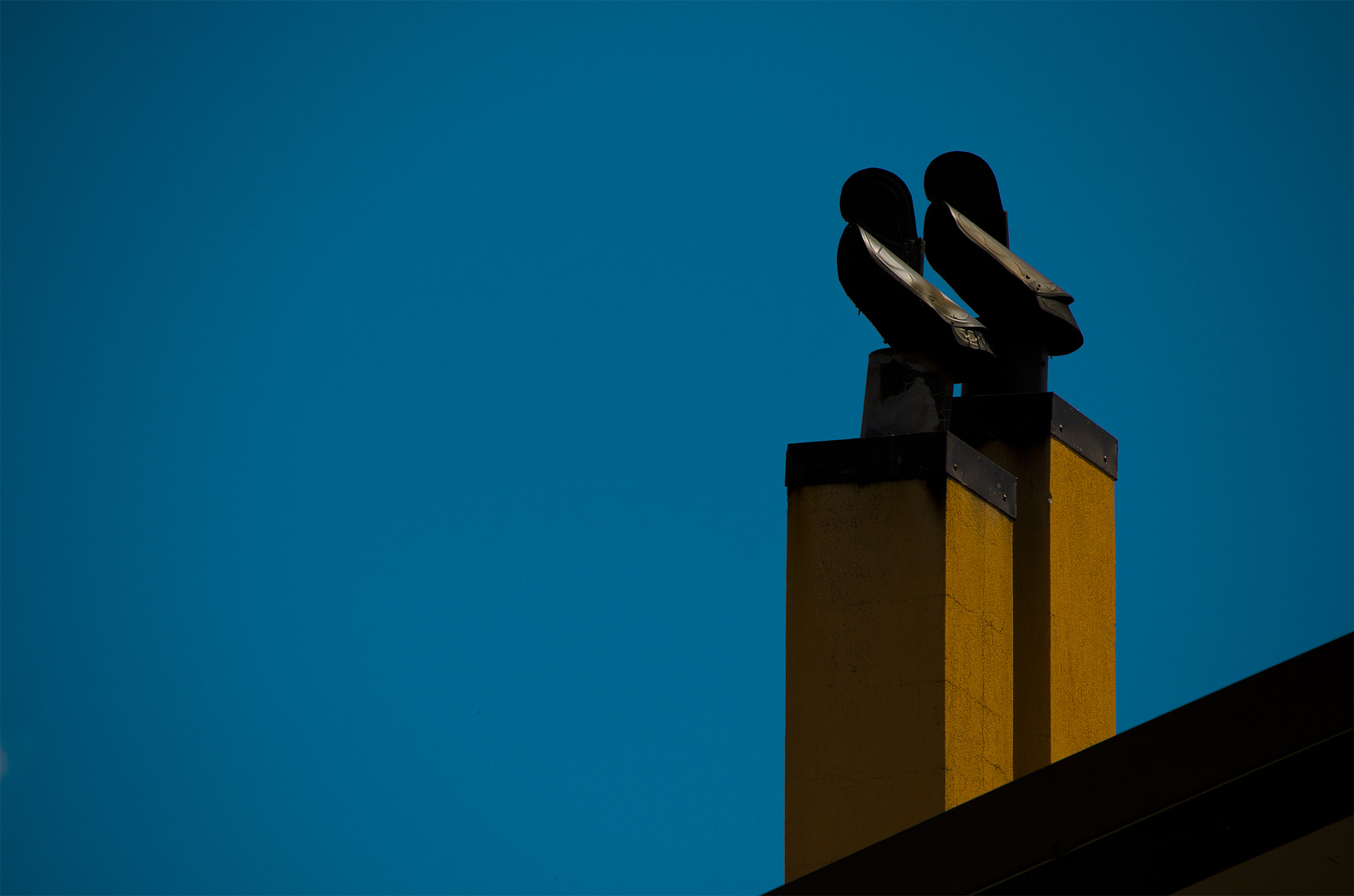 Photograph Double Chimneys by Vincenzo Tramutola on 500px
