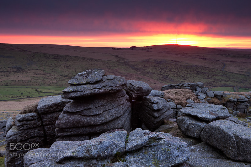 Photograph Great Staple Tor by Adam Burton on 500px