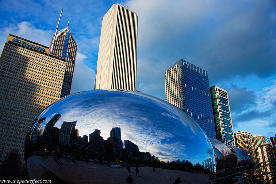 Cloud Gate by Donato Scarano on 500px.com