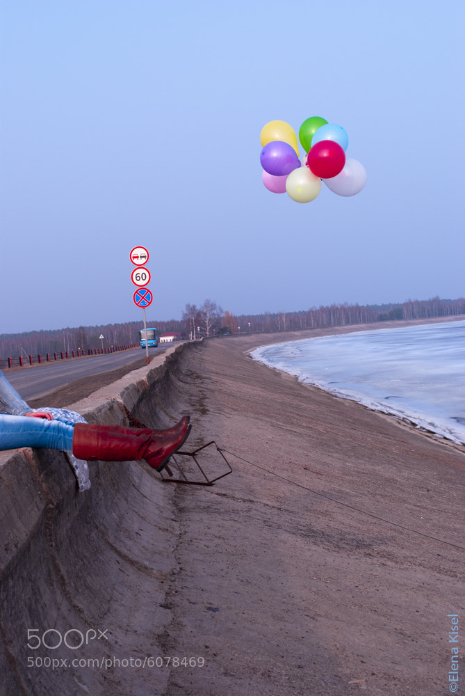 Photograph Flying joy) by Elena Kisel on 500px