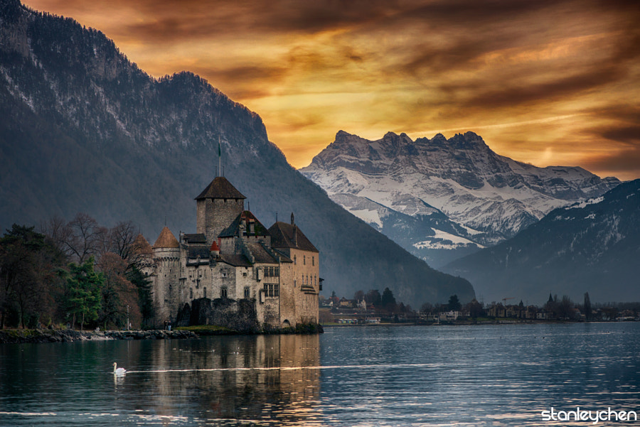 Photograph Little Swan Castle by Stanley Chen Xi on 500px