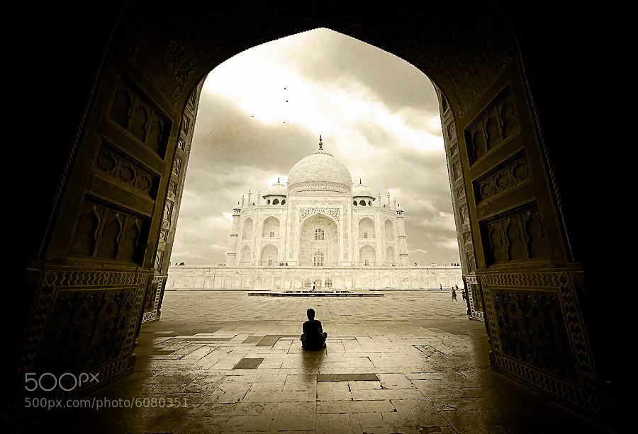 Photograph Taj ^_^ by Charungroj Bunphabuth on 500px