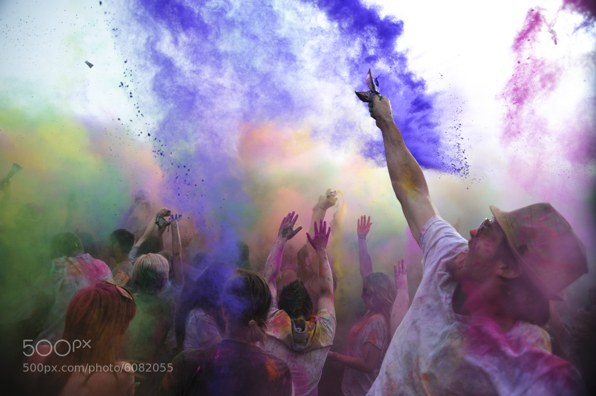 Photograph Holi Festival of Colors, 2012 by Jeff McGrath on 500px