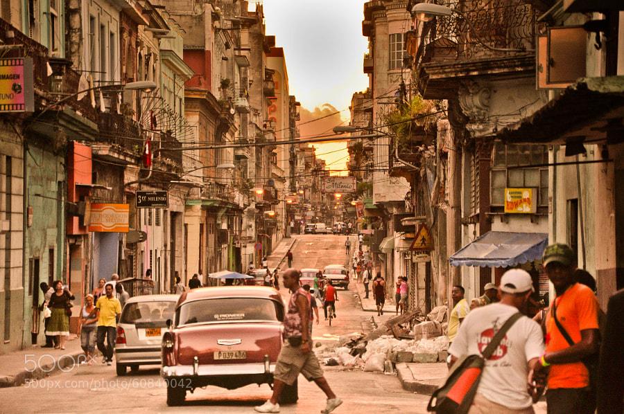 Photograph Havana busy street life by Juš Jeraj on 500px