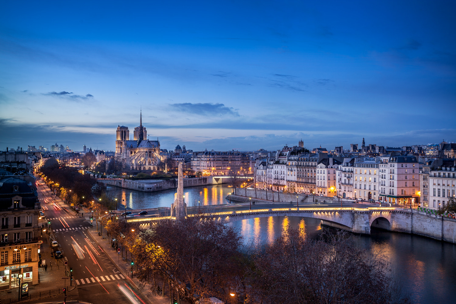 Photograph View of Paris by night by Ramelli Serge on 500px