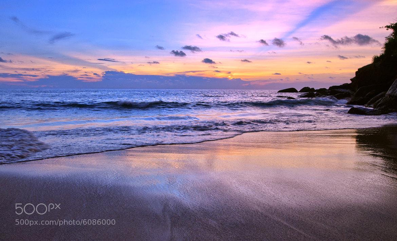 Photograph Sunset Kata Noi beach by Valentin Ayupov on 500px