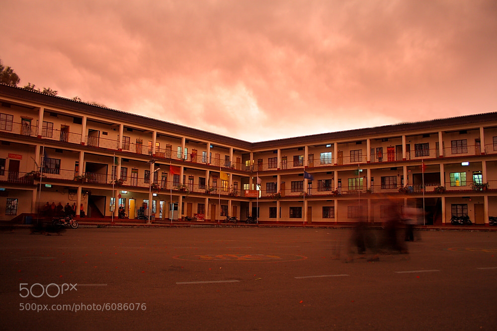 Photograph Tibetan Sunset by Aaron Joseph on 500px