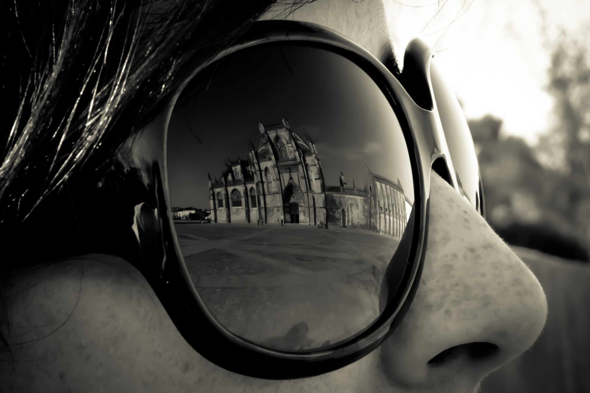 Photograph Reflections in her glasses by Pedro Thomaz on 500px