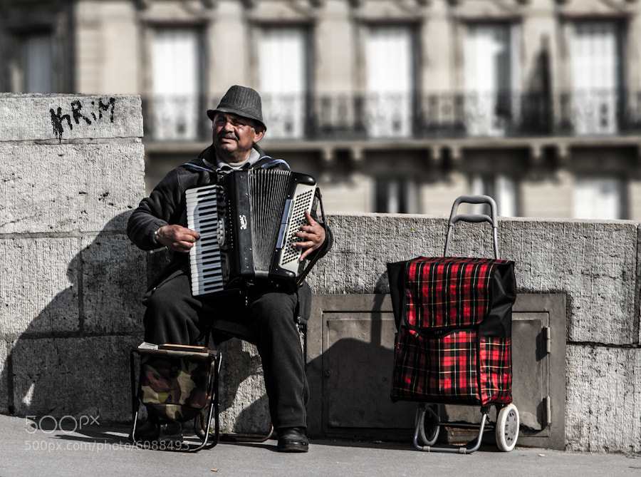 Photograph Street Music by Bernhard Minatti on 500px